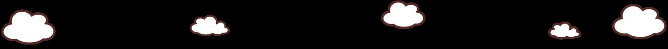 ページナビ背景飾り 雲